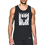 Under Armour Men's Project Rock Hard Work Graphic Sleeveless Shirt