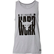 Under Armour Men's Project Rock Hard Work Graphic Sleeveless Shirt
