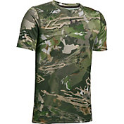Under Armour Men's Scent Control Tech Short Sleeve Hunting Shirt