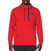 Under Armour Men's Rival Fitted Pull Over Hoodie