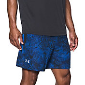 Under Armour Men's Speedpocket 7'' Print Running Shorts