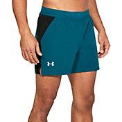 Under Armour Men's Threadborne Microthread Speedpocket Swyft 5'' Running Shorts