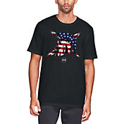 Under Armour Men's Freedom Spartan Flag T-Shirt