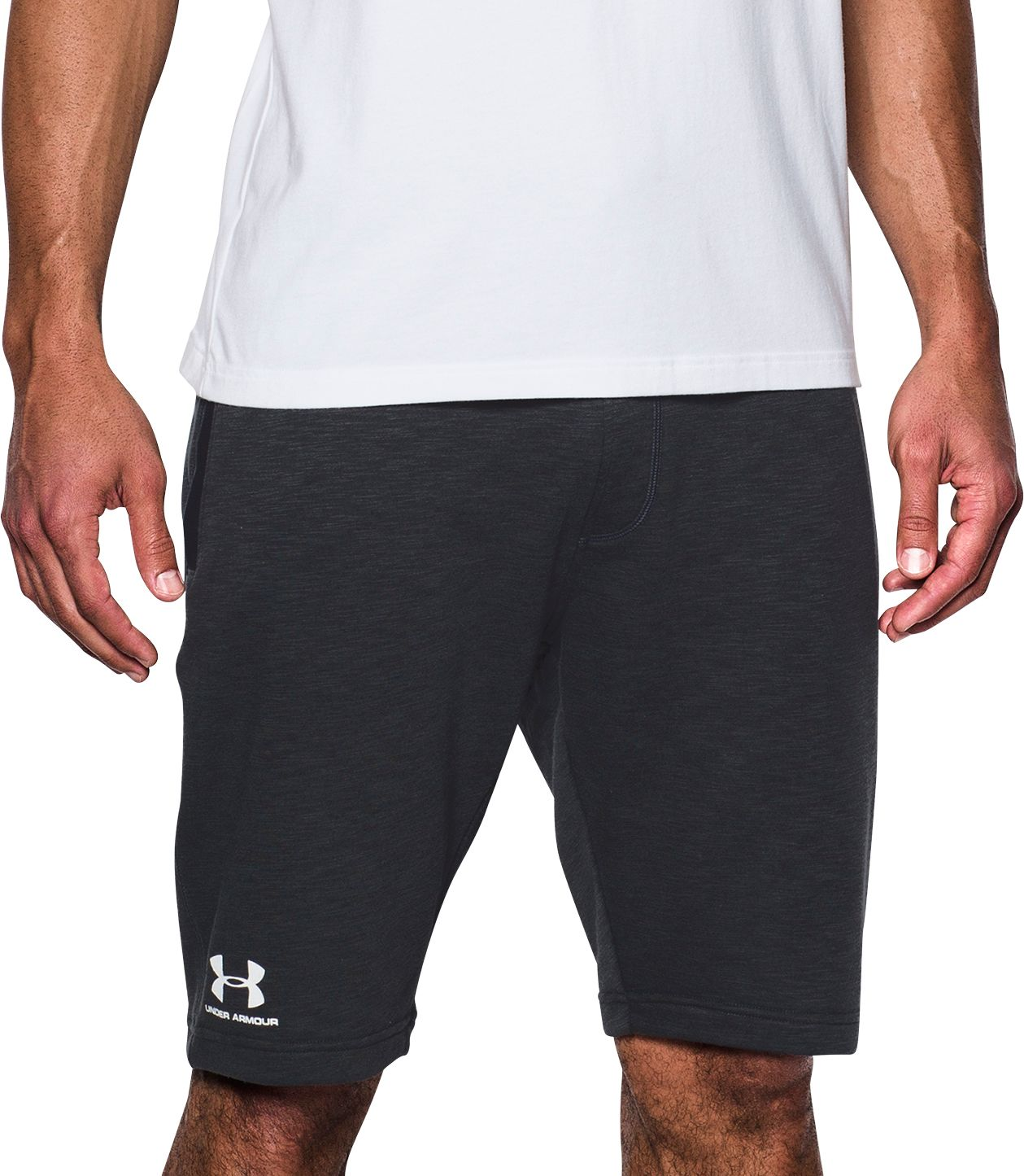 under armour 5 inch shorts. under armour men\u0027s sportstyle tapered fleece sweatshorts 5 inch shorts