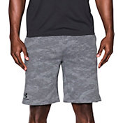 Under Armour Men's Sportstyle Camo Fleece Sweatshorts