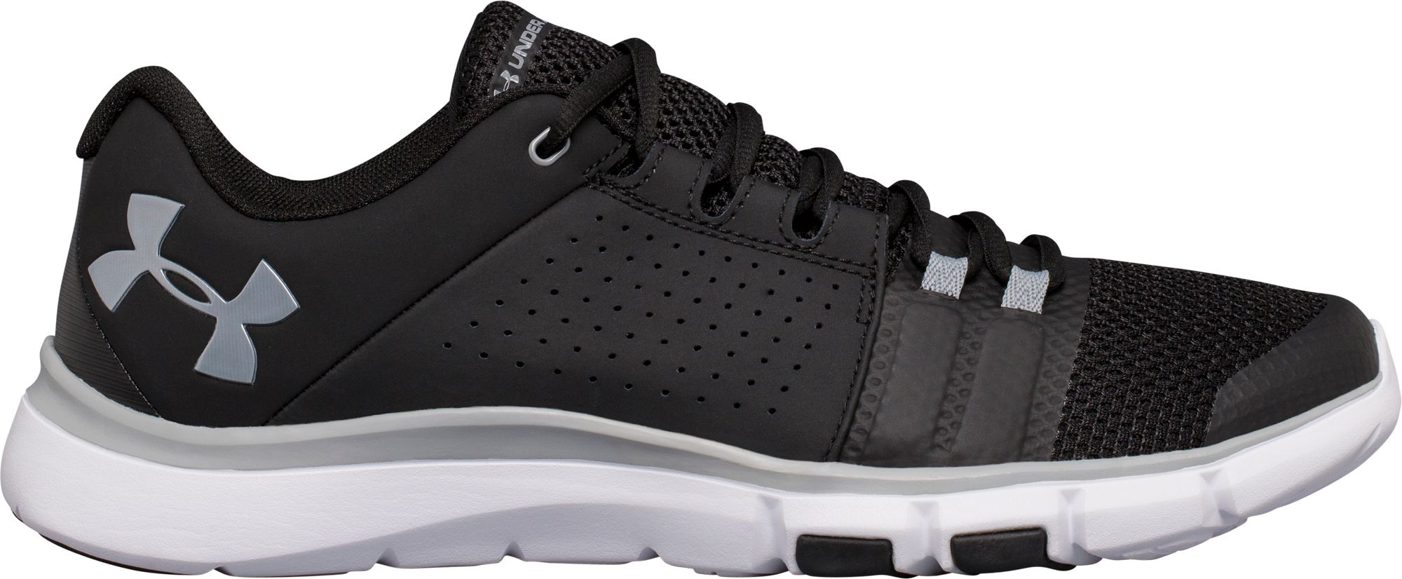 under armour shoes black and white. under armour men\u0027s strive 7 training shoes black and white i