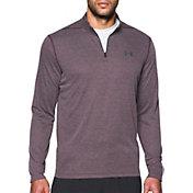 Under Armour Men's Threadborne Siro Herringbone Print ¼ Zip Long Sleeve Shirt