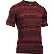 Under Armour Men's Threadborne Black Twist SportStyle T-Shirt