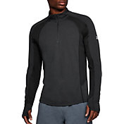 Under Armour Men's Threadborne Microthread Swyft 1/4 Zip Long Sleeve Shirt