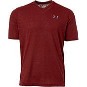 Under Armour Men's Threadborne Siro Striped V-Neck T-Shirt