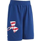 Under Armour Toddler Boys' Big Logo Americana Striker Shorts