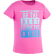 Under Armour Toddler Girls' Be The Best T-Shirt