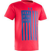 Under Armour Toddler Boys' Home Of The Brave T-Shirt