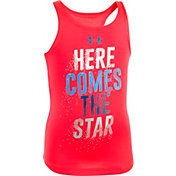 Under Armour Toddler Girls' Here Comes The Star Tank Top