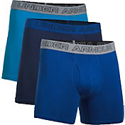 Under Armour Men's Cotton Stretch 6'' Boxer Briefs 3-Pack