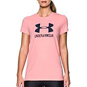 Under Armour Women's Big Logo Sportstyle Crew T-Shirt