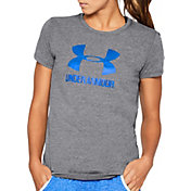 Under Armour Women's Big Logo Sportstyle Crew T-Shirt