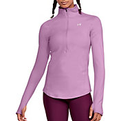 Under Armour Women's ColdGear Armour 1/2 Zip Long Sleeve T-Shirt