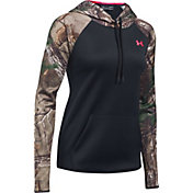 Under Armour Women's Armour Fleece Camo Blocked Hoodie