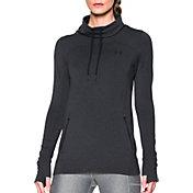 Under Armour Women's Featherweight Fleece Slouchy Funnel Neck Sweatshirt