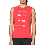 Under Armour Women's Girl Boss Muscle Tank Top