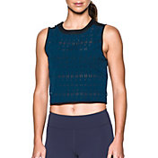 Under Armour Women's Ladder Mesh Muscle Tank Top