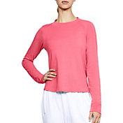 Under Armour Women's Modal Terry Novelty Crewneck Long Sleeve Shirt