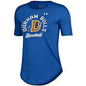 Under Armour Women's Durham Bulls Royal Tech Performance T-Shirt