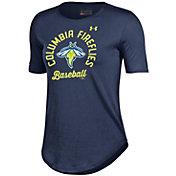 Under Armour Women's Columbia Fireflies Navy Tech Performance T-Shirt