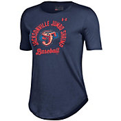 Under Armour Women's Jacksonville Jumbo Shrimp Navy Tech Performance T-Shirt