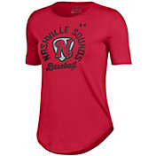 Under Armour Women's Nashville Sounds Red Tech Performance T-Shirt