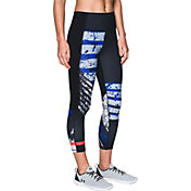 Under Armour Women's Mirror Hi-Rise Printed Crop Leggings