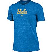 Under Armour Women's UCLA Bruins True Blue Crew Tri-Blend T-Shirt