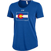 Under Armour Women's Colorado State Rams Colorado State Pride Royal Charged Cotton T-Shirt