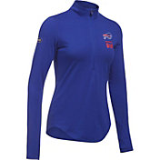 Under Armour NFL Combine Authentic Women's Buffalo Bills Favorites Half-Zip Blue Pullover