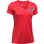 Under Armour NFL Combine Authentic Women's Buffalo Bills Twist Tech Performance T-Shirt