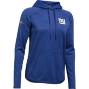 Under Armour NFL Combine Authentic Women's New York Giants Tunnel Twist Blue Hoodie