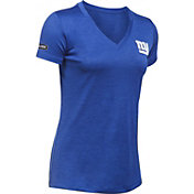 Under Armour NFL Combine Authentic Women's New York Giants Twist Tech Performance T-Shirt