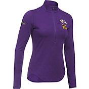 Under Armour NFL Combine Authentic Women's Baltimore Ravens Favorites Half-Zip Purple Pullover