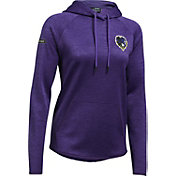 Under Armour NFL Combine Authentic Women's Baltimore Ravens Tunnel Twist Purple Hoodie