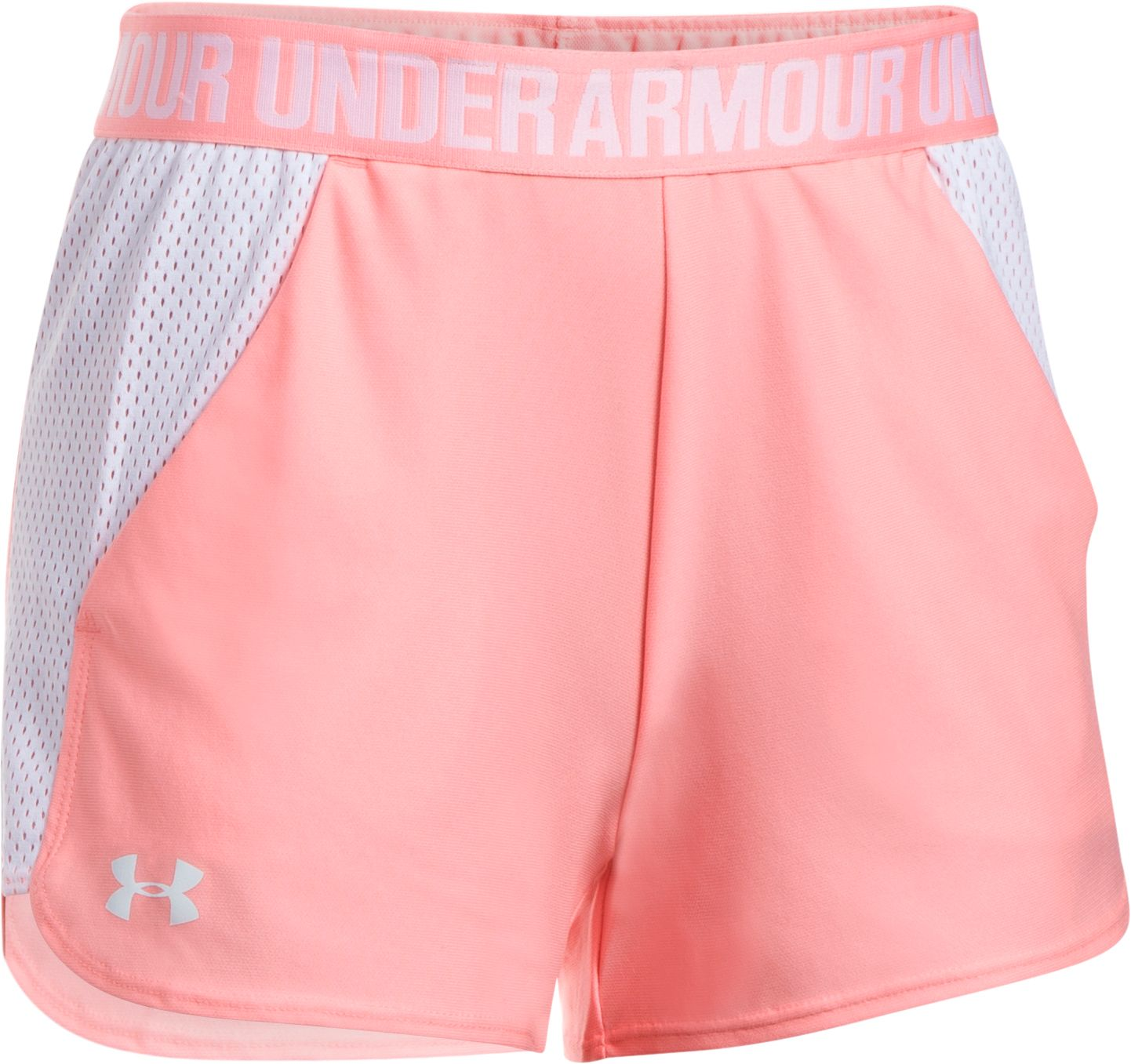 Under Armour Women's Play Up Mesh Inset Shorts by Under Armour