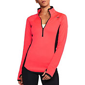 Under Armour Women's ColdGear Reactor Fleece Half Zip Sweatshirt