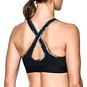 Under Armour Women's Armour Crossback Debossed Sports Bra