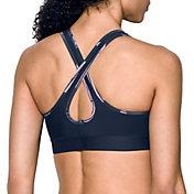 Under Armour Women's Armour Crossback Debossed Sports Bra
