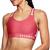 Under Armour Women's Mid Keyhole Mesh Sports Bra