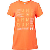 Under Armour Women's Scatter Big Logo Graphic T-Shirt