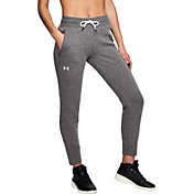 Under Armour Women's Slim Leg Rib Cuff Jogger Pants
