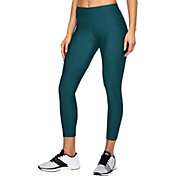 Under Armour Women's Threadborne Microthread Balance Crop Tights