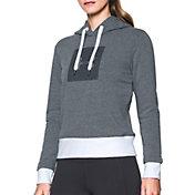 Under Armour Women's Threadborne Fleece Big Logo Hoodie