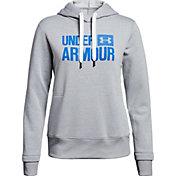 Under Armour Women's Threadborne Fleece Wordmark Logo Hoodie